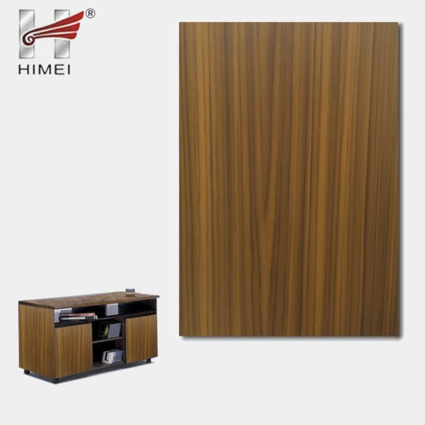 Wood Grain Plastic Laminate Veneer Pvc